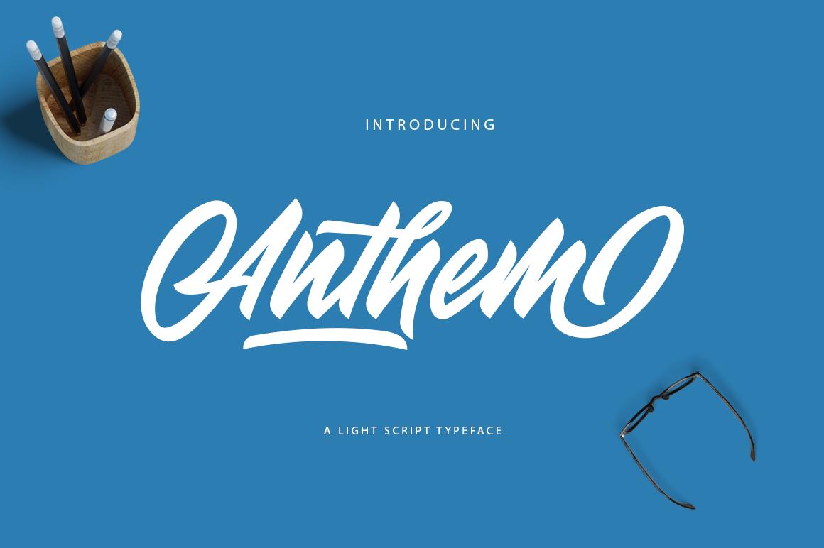 Anthem Typeface - دانلود رایگان فونت Anthem Typeface - فونت پرمیوم و حرفهای