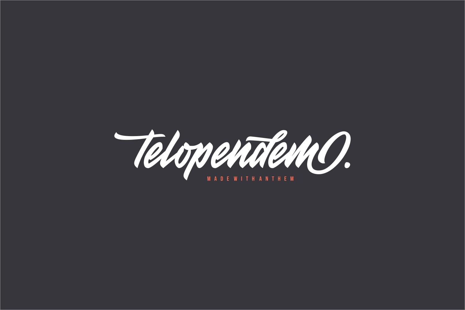 دانلود رایگان فونت Anthem Typeface - فونت پرمیوم و حرفهای