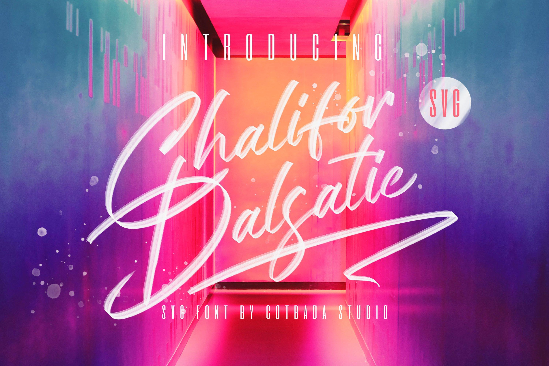دانلود فونت Chalifor Dalsatic - مجموعه 3 فونت پرمیوم و حرفهای