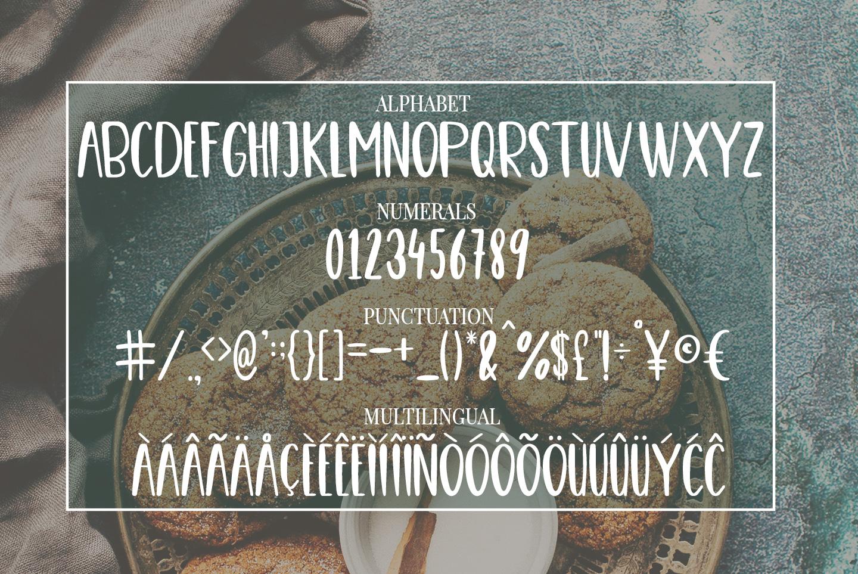 Cute Casual Handwritten font COOKIES4 - دانلود رایگان فونت COOKIES - فونت پرمیوم دست ساز و زیبا