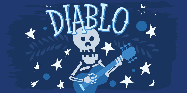 Diablo1 - دانلود رایگان فونت Diablo - فونت پرمیوم و حرفهای