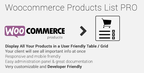 Photo of دانلود افزونه وردپرس Woocommerce Products List Pro – افزونه ووکامرس لیست محصولات
