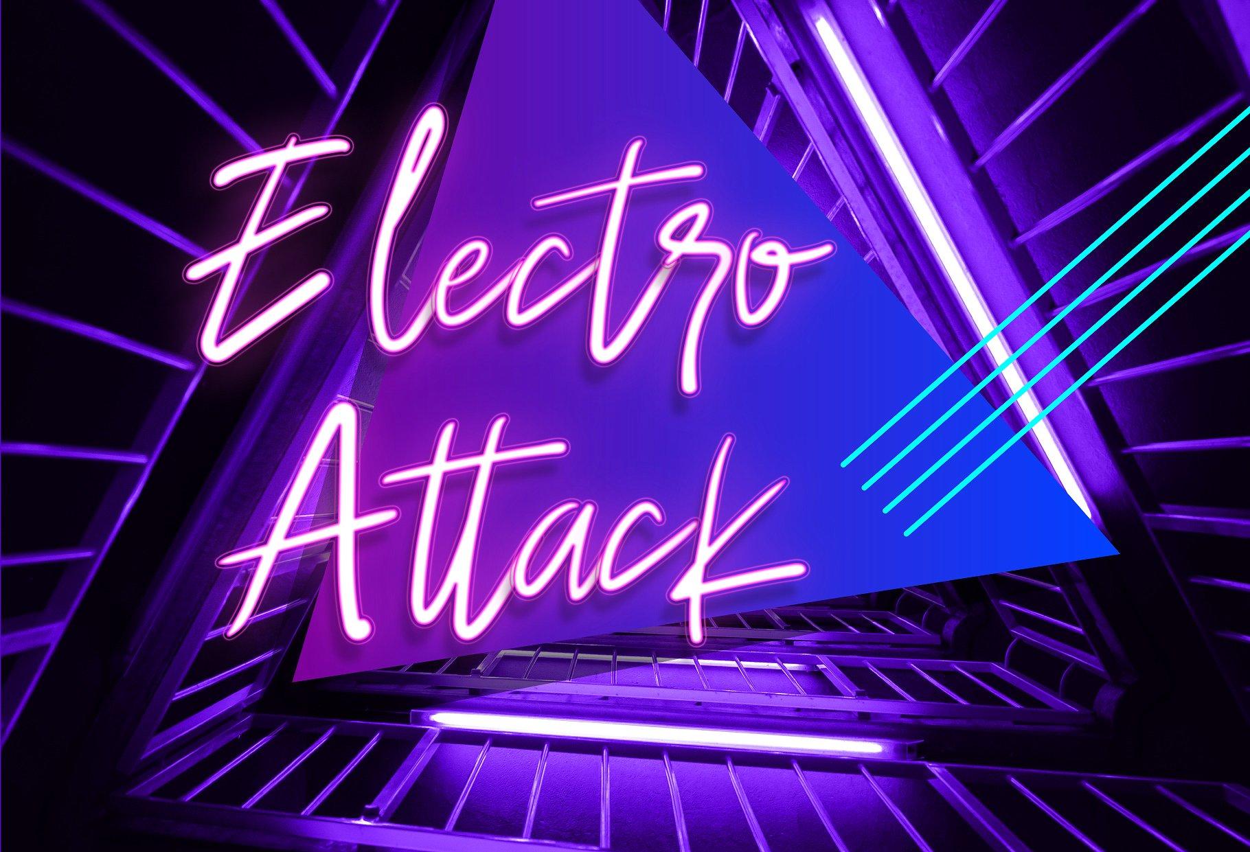 دانلود رایگان فونت انگلیسی Discoteque Neon