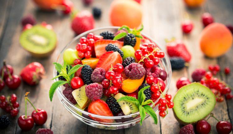 دانلود مجموعه تصاویر استوک با موضوع سالاد میوه - دسر تازه