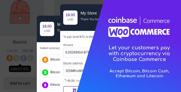 Photo of دانلود افزونه وردپرس Coinbase Commerce for WooCommerce