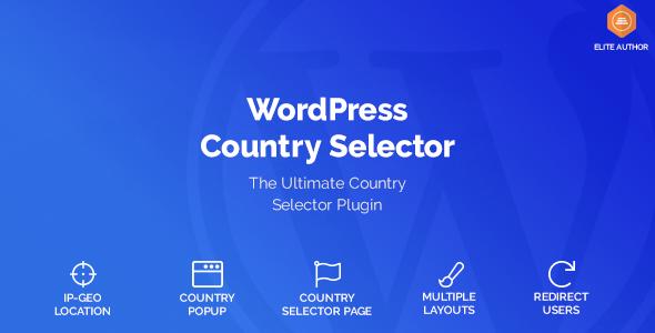 Photo of دانلود افزونه وردپرس Country Selector – محتوای انتخابی برای کاربران هر کشور