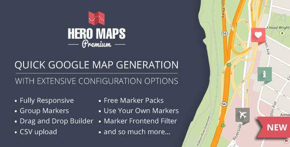 Photo of دانلود افزونه وردپرس Hero Maps Premium – افزونه نقشه گوگل وردپرس