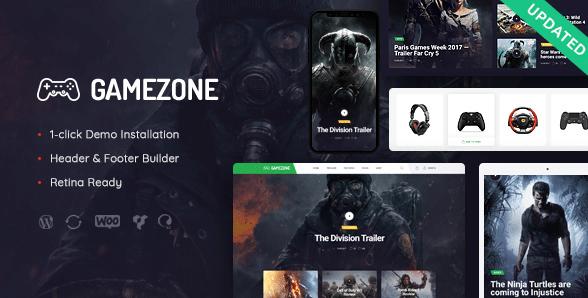 Photo of دانلود قالب وردپرس Gamezone – وبلاگ و فروشگاه گیمینگ وردپرس