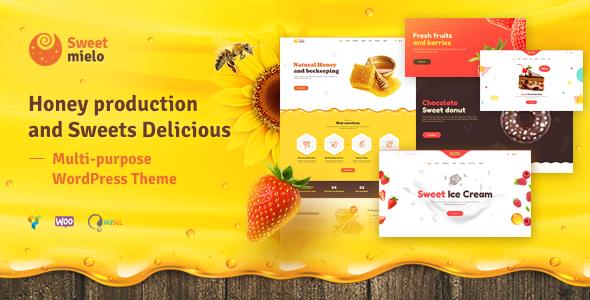 Photo of دانلود قالب وردپرس Sweet Mielo – پوسته زنبور داری و تولید عسل وردپرس