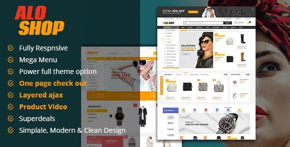 Photo of دانلود قالب مجنتو Alo Shop – قالب سوپر مارکت آنلاین Magento
