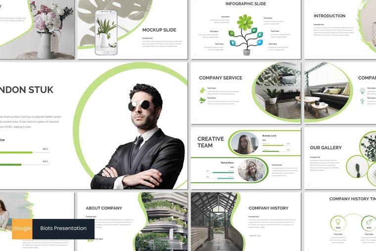 دانلود مجموعه قالب های ارائه Biots – پاورپوینت   گوگل اسلاید   Keynote