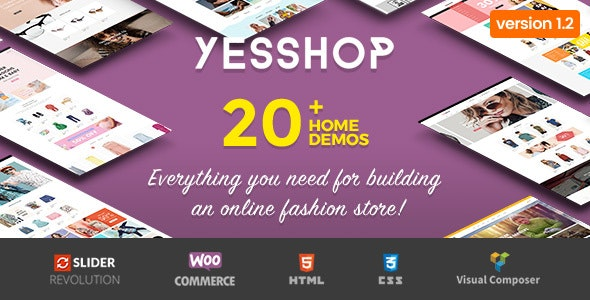 Photo of دانلود قالب وردپرس Yesshop – پوسته فروشگاهی راست چین و حرفه ای ووکامرس