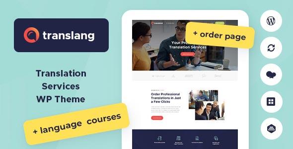 Photo of دانلود قالب وردپرس Translang – پوسته آموزشگاه زبان و خدمات ترجمه وردپرس