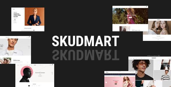 دانلود قالب وردپرس Skudmart - پوسته فروشگاهی حرفه ای ووکامرس