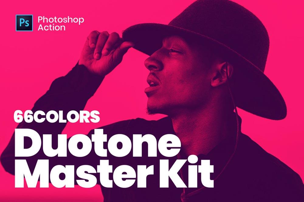 دانلود اکشن فتوشاپ Duotone Master Kit | به همراه پریست آماده و حرفه ای