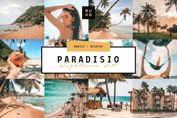 دانلود پریست لایت روم Paradisio - مجموعه 8 عددی حرفه ای