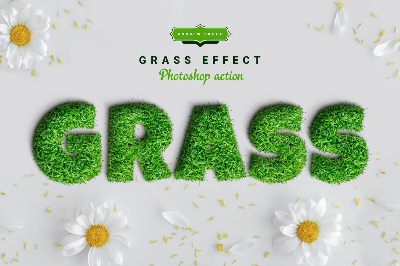 دانلود اکشن فتوشاپ Grass - به همراه آموزش تصویری کار با اکشن