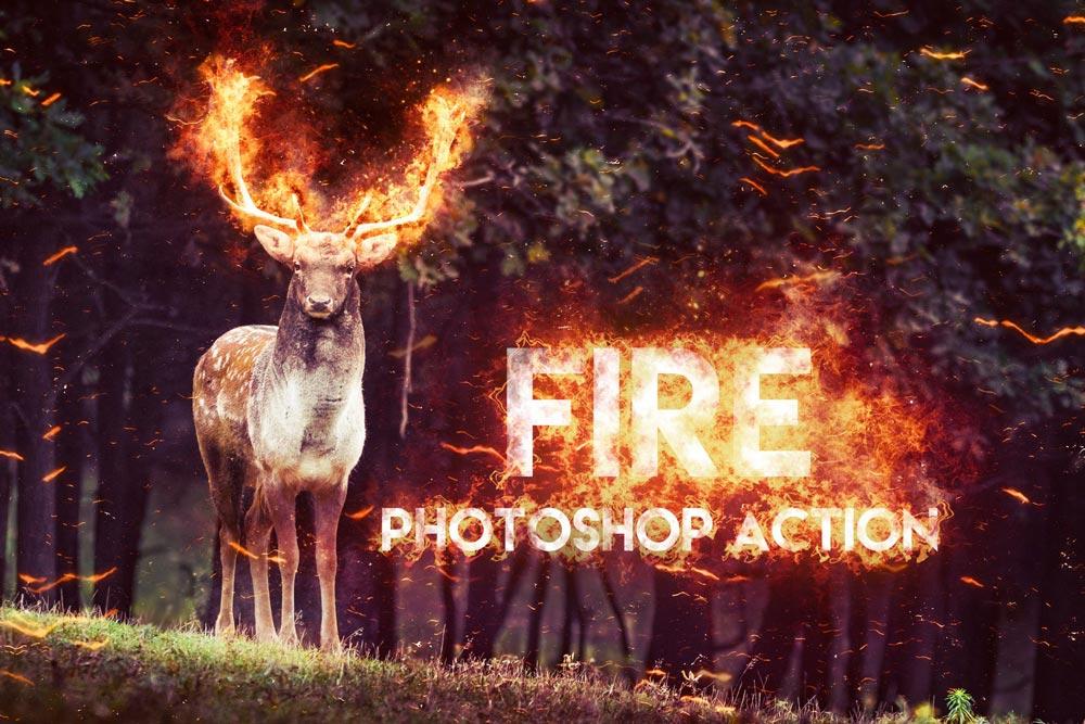 Photo of دانلود اکشن فتوشاپ Fire – اکشن فتوشاپ بی نظیر افکت آتش واقع گرایانه