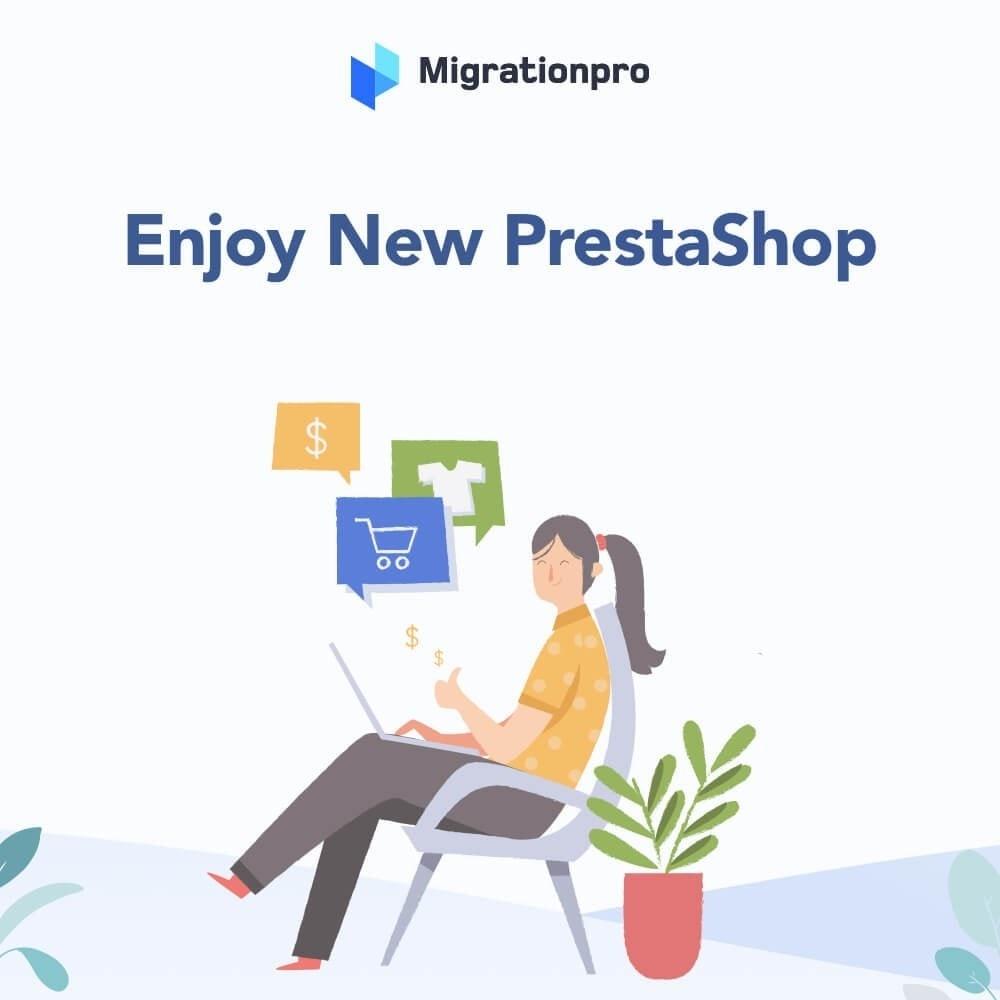 MigrationPro WooCommerce to PrestaShop Migration Tool Module 8 1 - دانلود افزونه پرستاشاپ MigrationPro - انتقال سایت از ووکامرس به پرستاشاپ