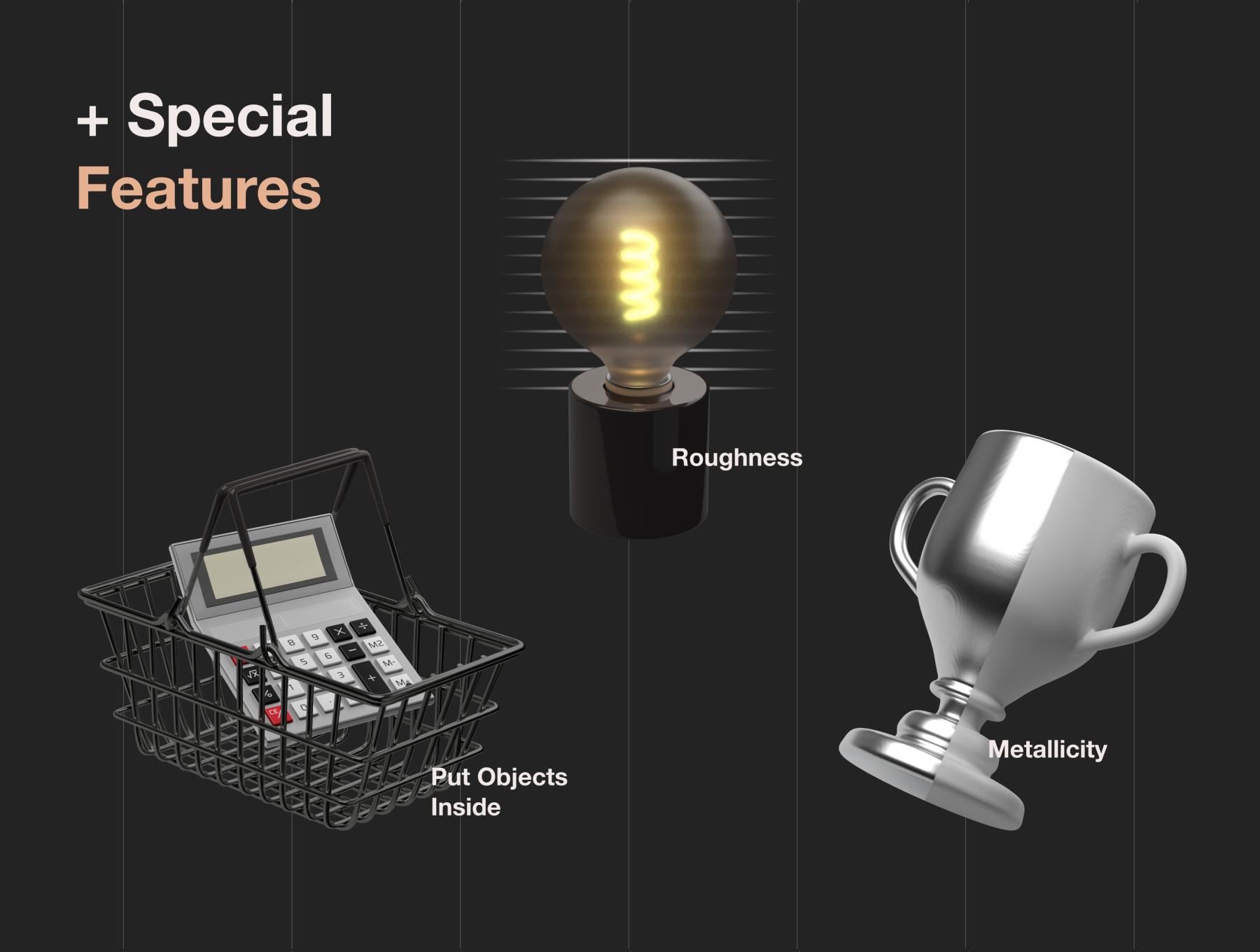دانلود آیکون سه بعدی و 3D