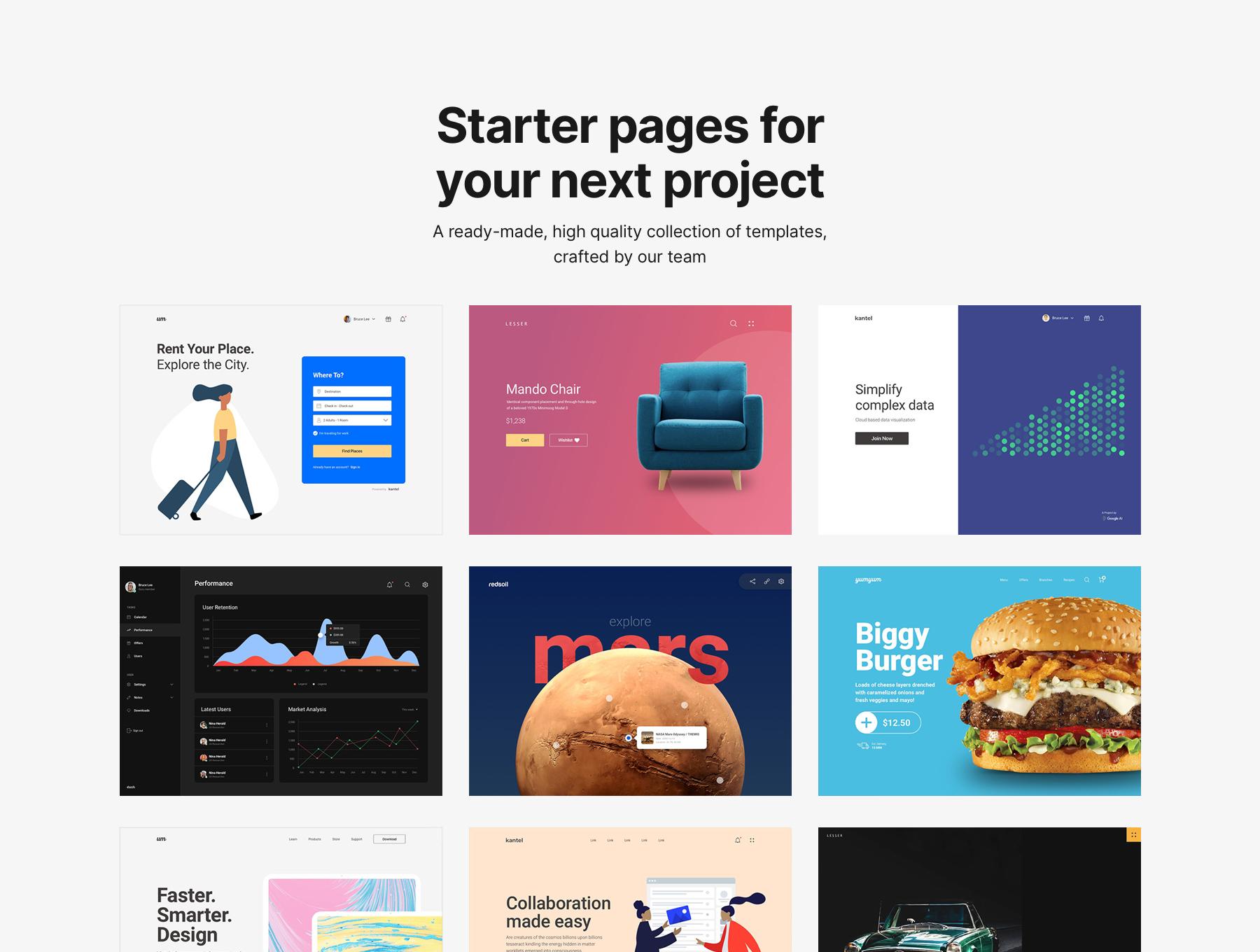 دانلود قالب وب سایت Fabrx Web Design System