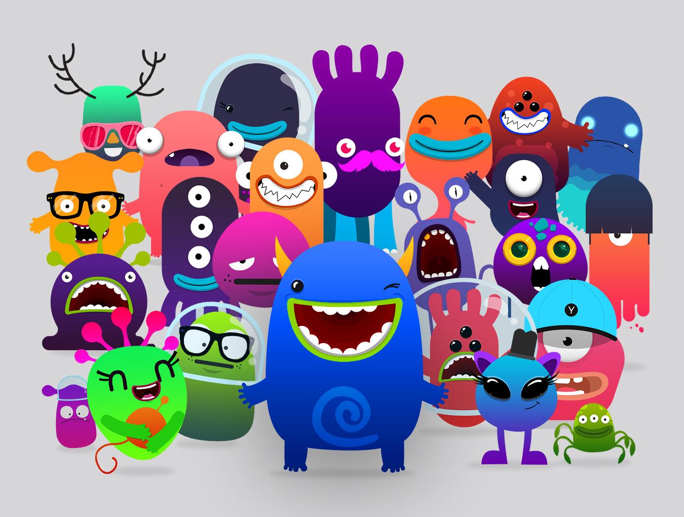 دانلود کاراکتر Monster Studio Pro