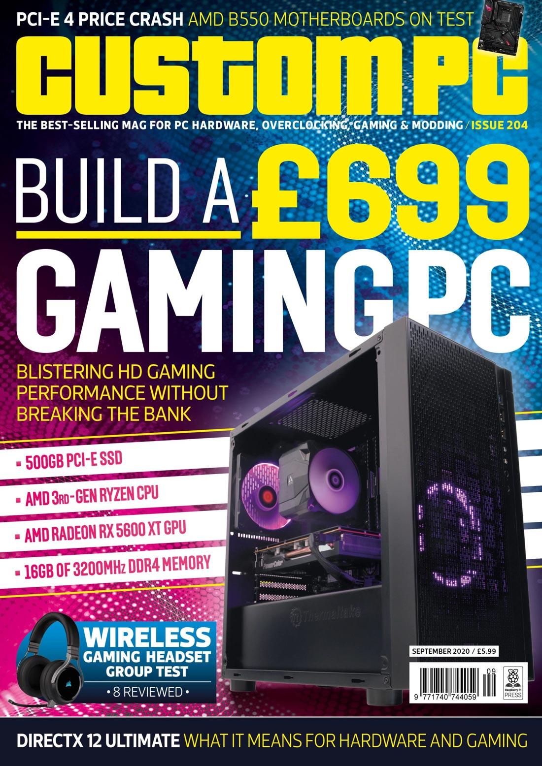 دانلود مجله الکترونیکی Custom PC - چاپ 204 نسخه سپتامبر 2020