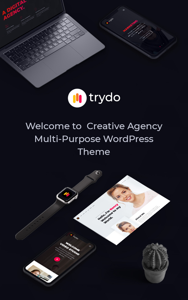 Trydo - Creative Agency & Portfolio WordPress Theme - 5