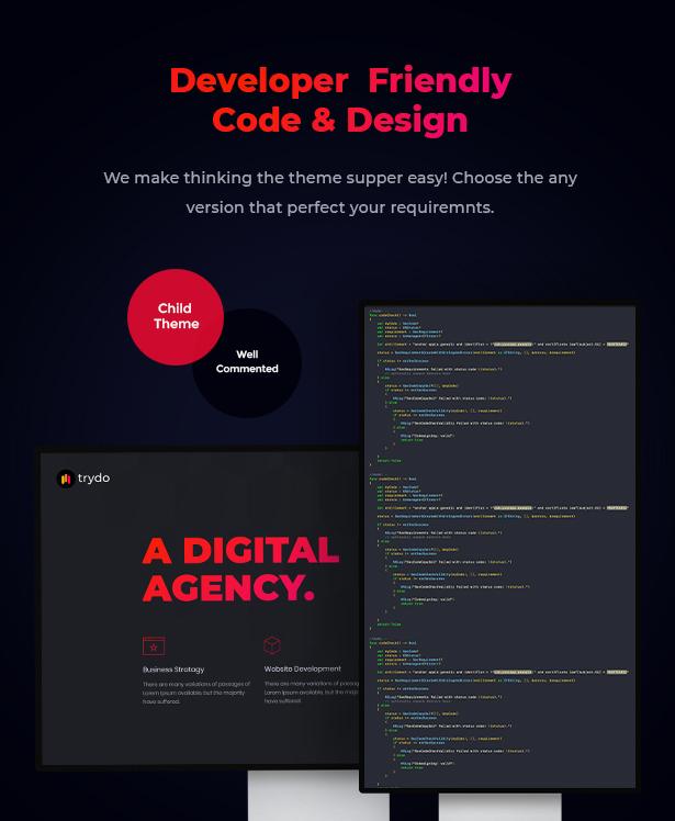 Trydo - Creative Agency & Portfolio WordPress Theme - 11