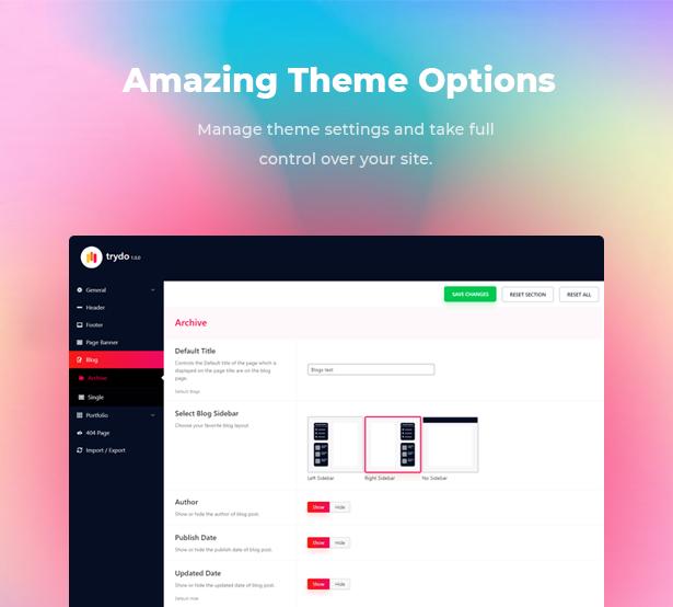 Trydo - Creative Agency & Portfolio WordPress Theme - 15
