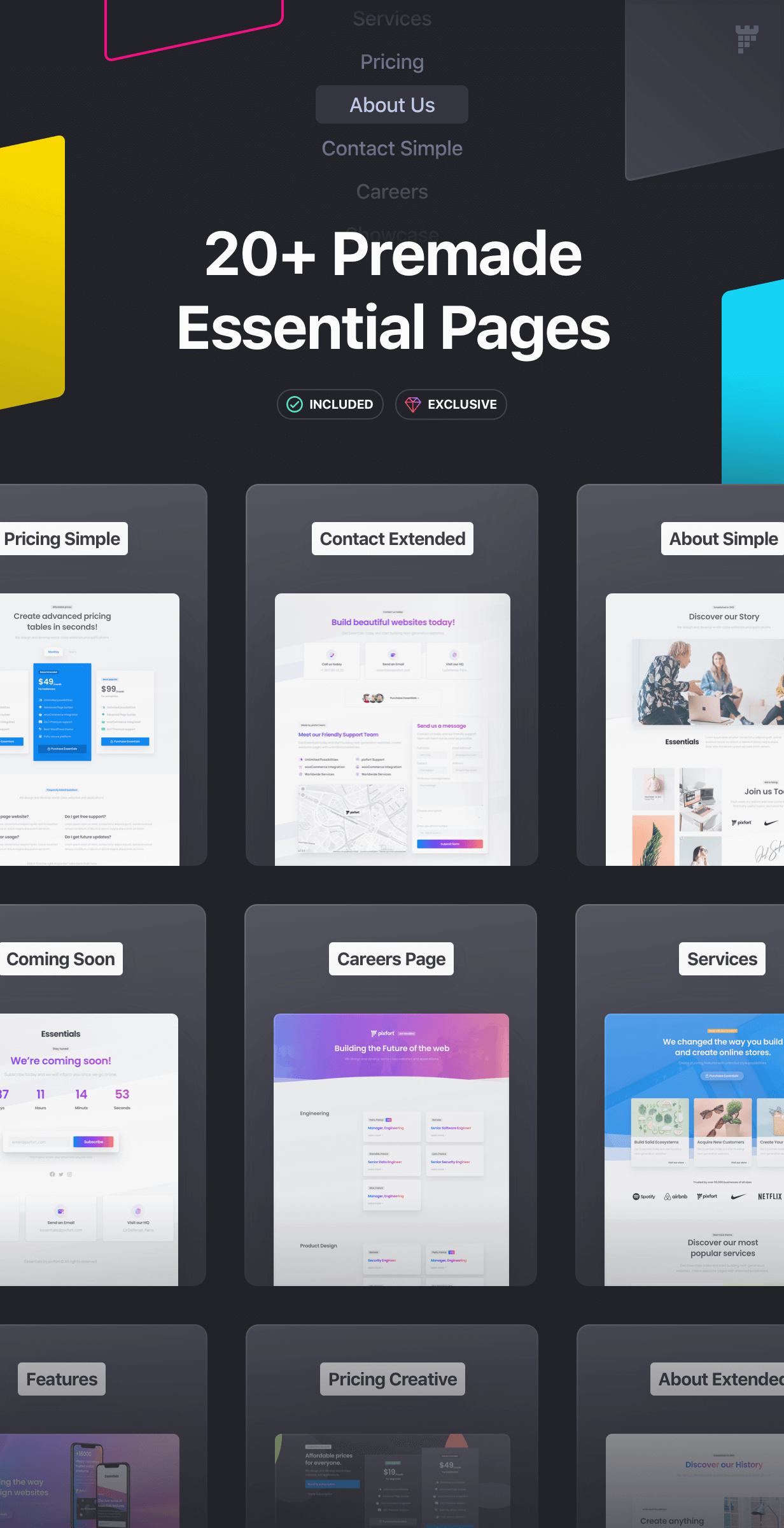 Essentials | Multipurpose WordPress Theme - 23