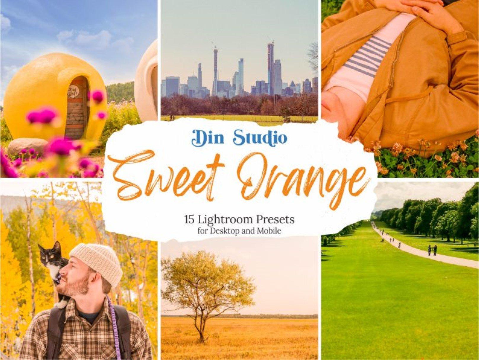 دانلود پریست لایت روم Sweet Orange