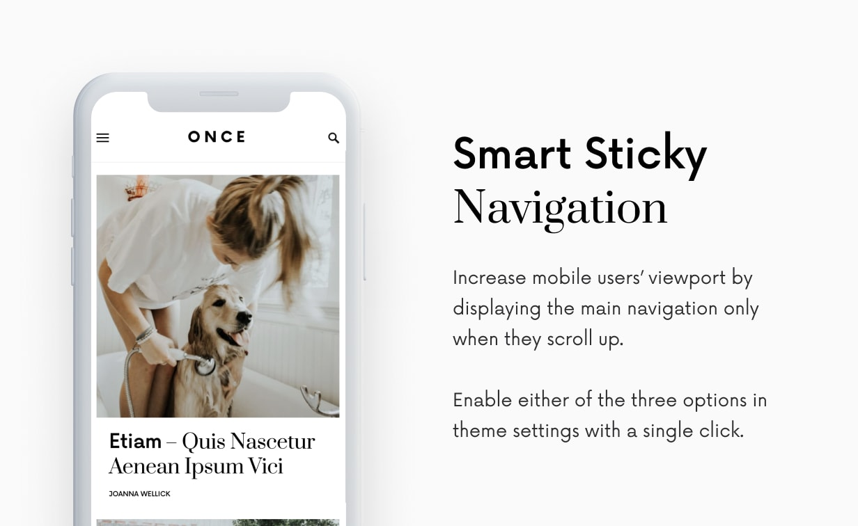 Once - Clean & Elegant WordPress Blog Theme - 56