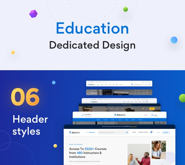 EduMall - Professional LMS Education Center WordPress Theme - 23