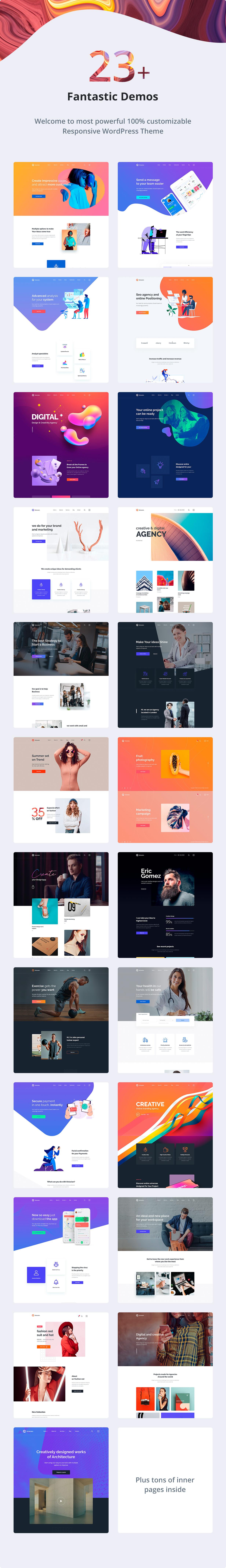 Octavian | Creative Multipurpose WordPress Theme - 2