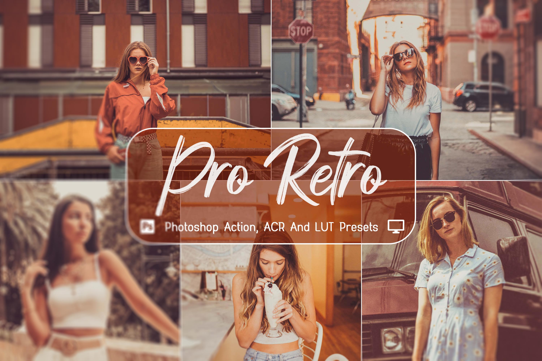دانلود مجموعه 10 اکشن فتوشاپ Pro Retro