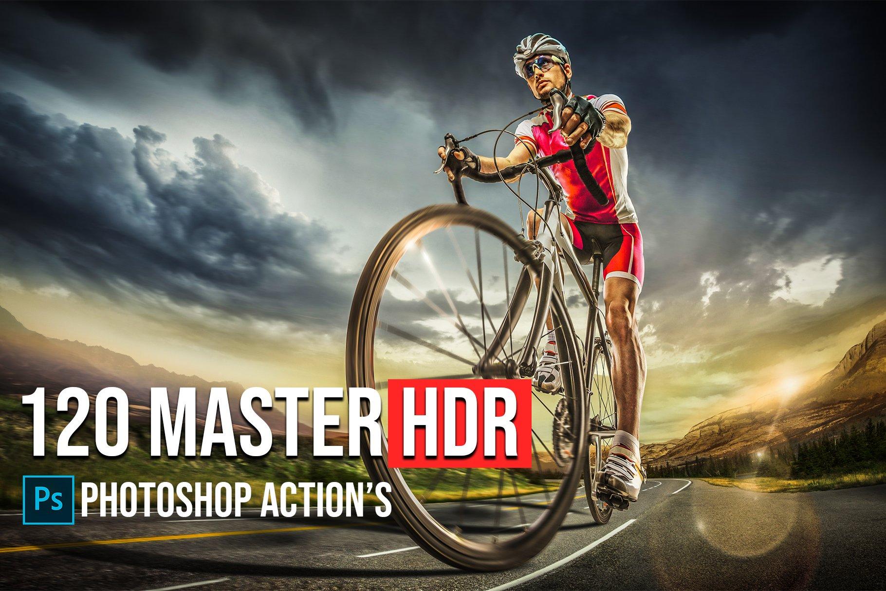 دانلود اکشن فتوشاپ 120 Master HDR