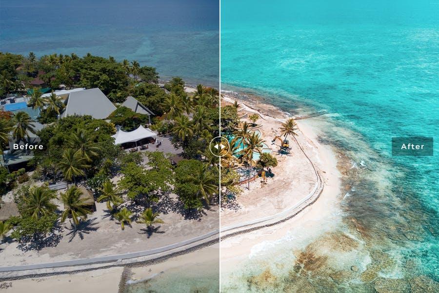 دانلود پریست لایت روم Fiji Ocean