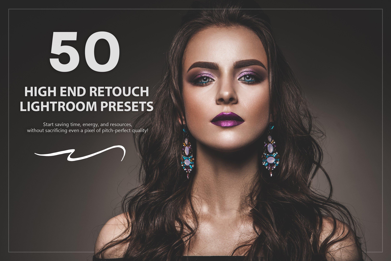 50 High End Retouch Lightroom Preset