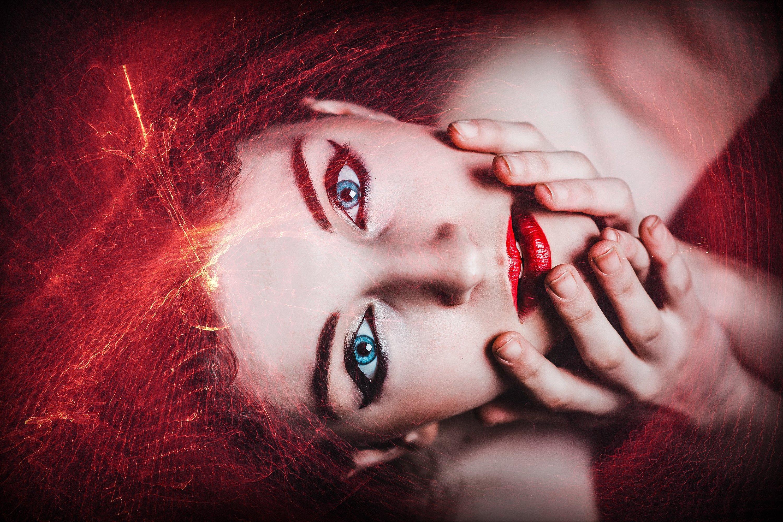 50 Mystical Red Light Photo Overlays