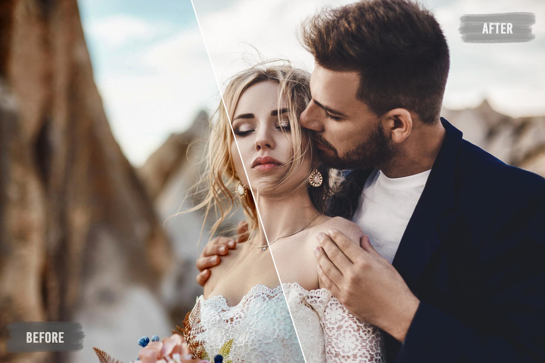 50 Warm Wedding LUTs Pack
