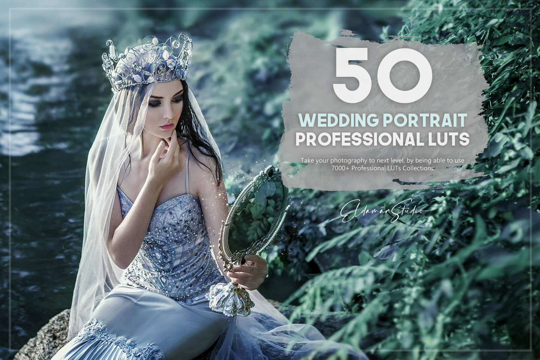 50 Wedding Portrait LUTs Pack