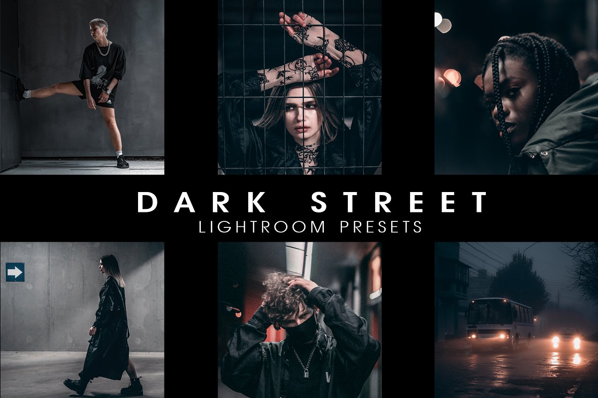 دانلود پریست لایت روم Dark street