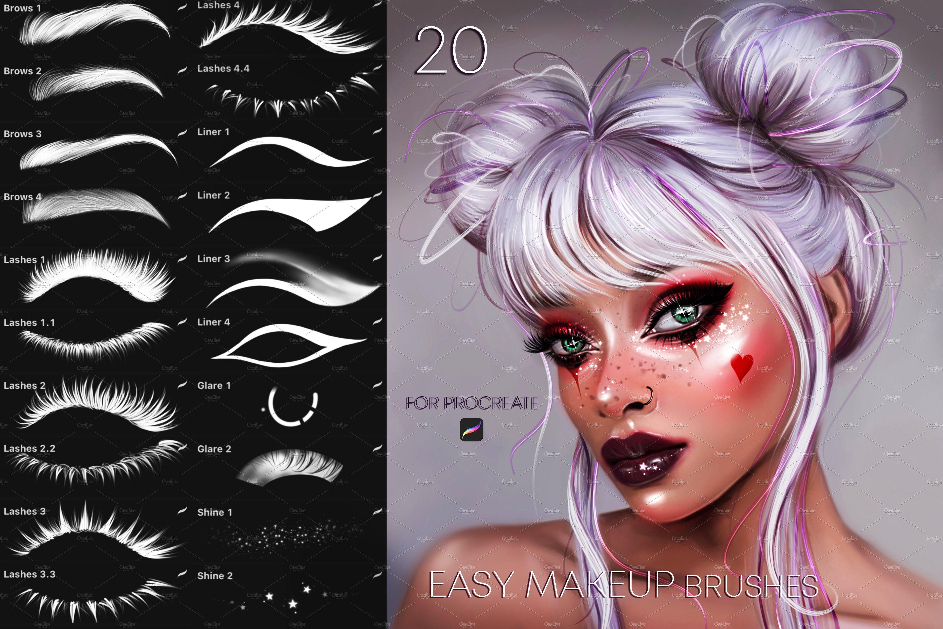دانلود مجموعه براش های میکاپ Easy MakeUp برای پروکریت
