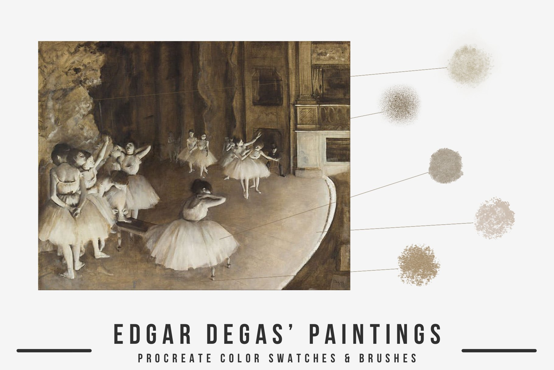دانلود براش Edgar Degas Art پروکریت