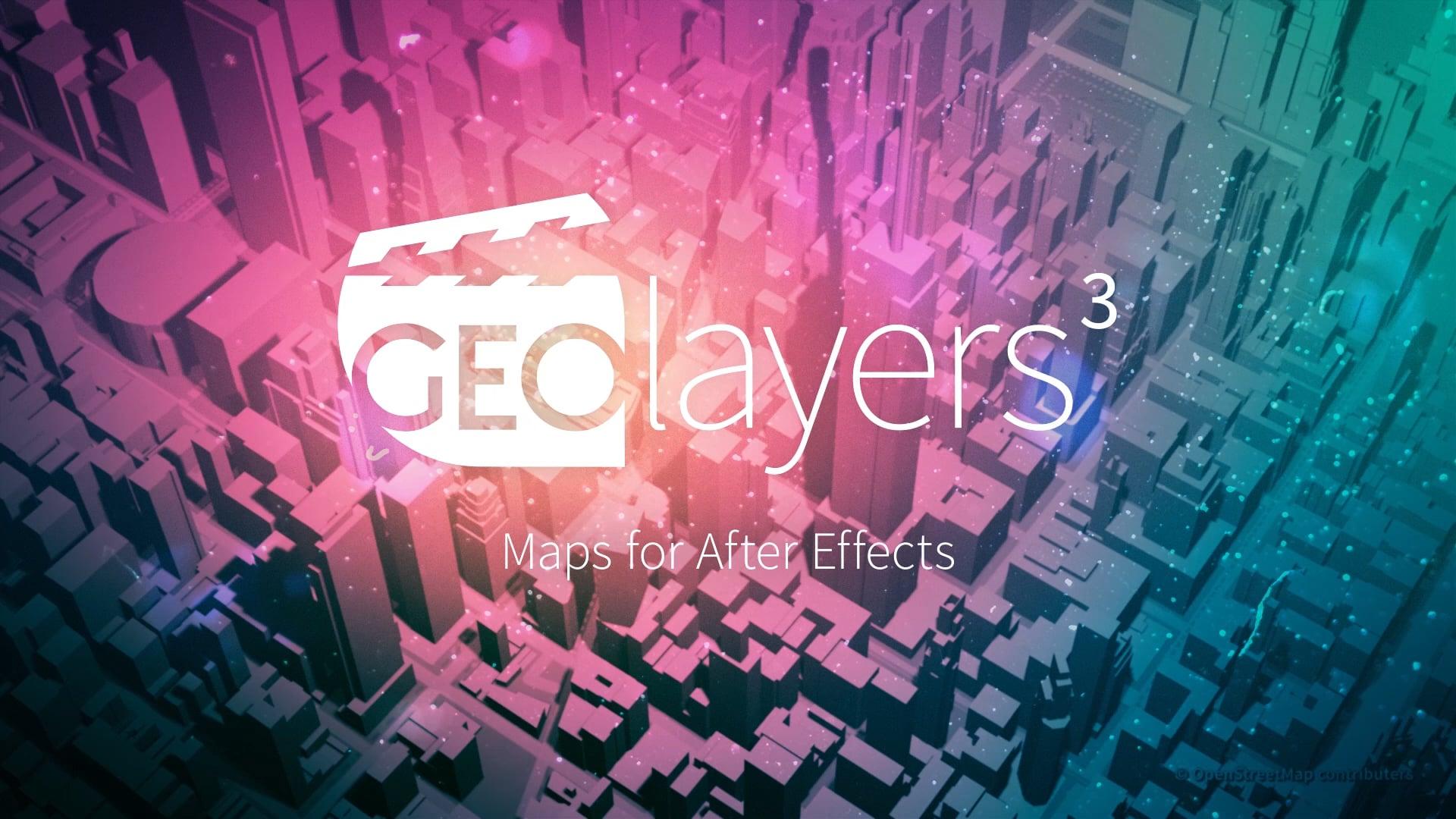 دانلود پلاگین افتر افکت GEOlayers 3