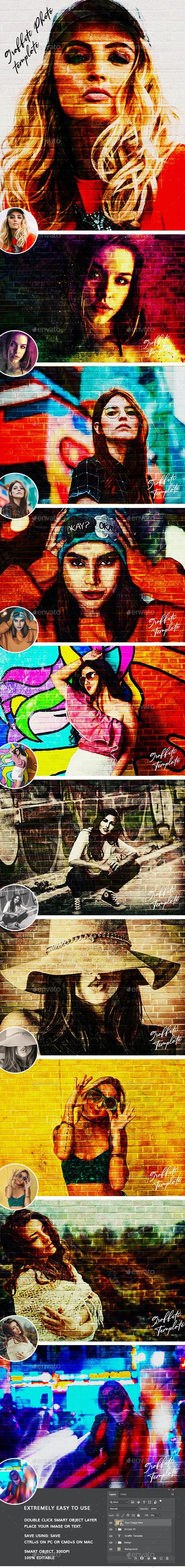 دانلود تمپلیت Graffiti Effects