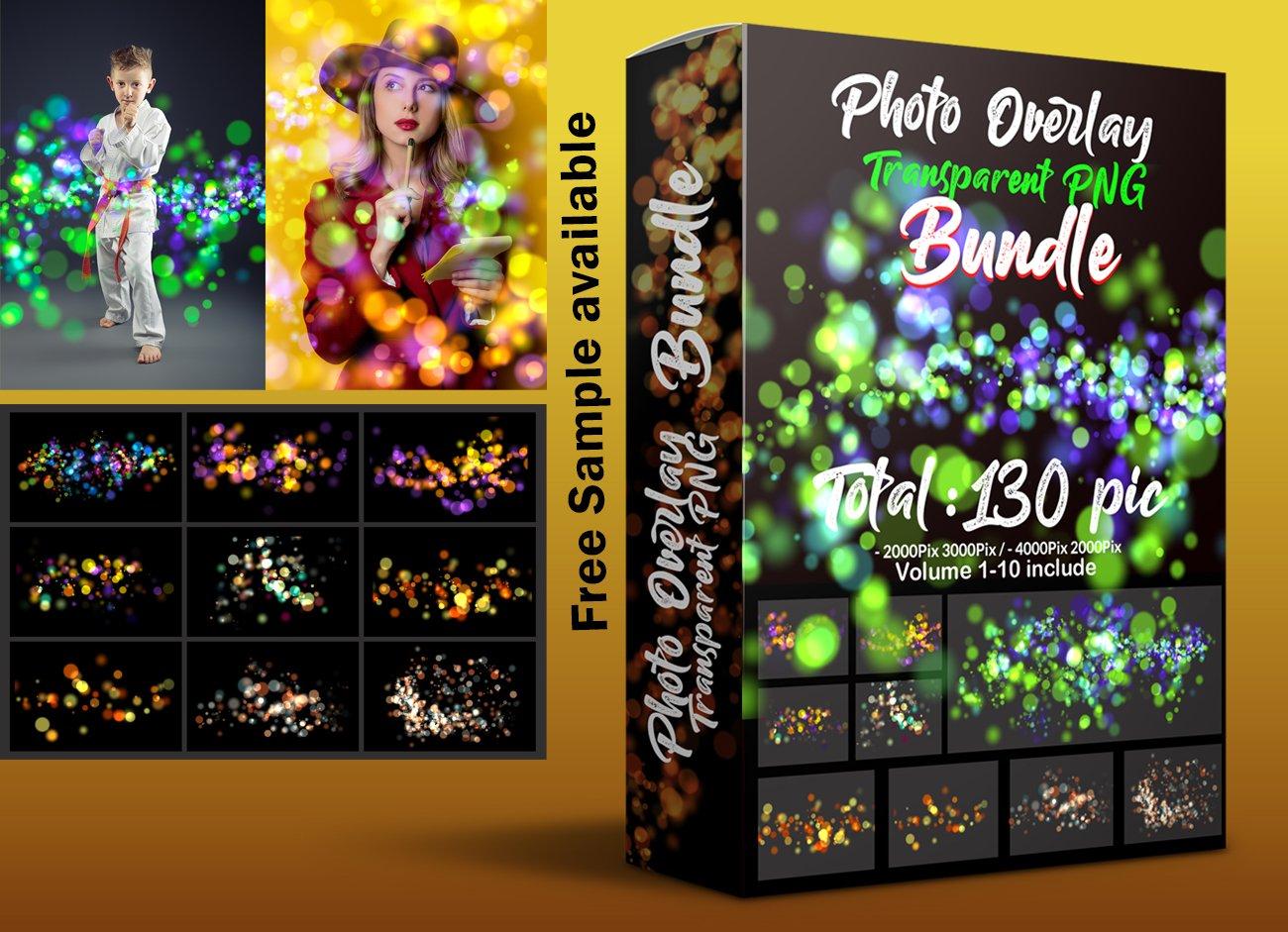 Mega Bundle Photo Overlays png