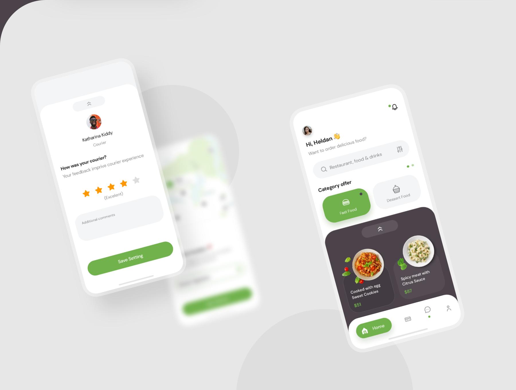 دانلود UI Kit اپلیکیشن موبایل Poris