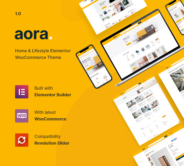 Aora - Home & Lifestyle Elementor WooCommerce Theme - 6